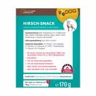 Hirsch-Snack 170g (1 Packung)